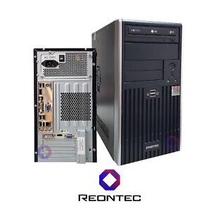 CHIEFTEC Desktop PC i5 Intel 2500K Windows 10 Pro 500GB HDD 8GB RAM