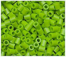 1000 Perler Kiwi Lime Color Iron on Fuse beads New