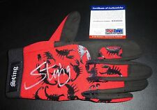 Sting Signed Official TNA In Ring Model Glove PSA/DNA COA WWE WCW Wrestling Auto