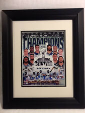 Seattle Seahawks 2014 Super Bowl Champions Framed Authentic Team Photo Picture