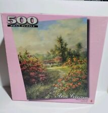 Mattel Artist Collection 500 Piece Puzzle Man and Nature Maurice Harvey Jigsaw