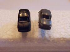Ohrring mit kleinem schwarz graues Auto graue Felgen für alle Auto Fans 4718