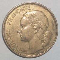 1950 France 50 franc XF rare coin