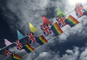 Thank You Day Fabric Bunting - With Donation to NHS - Free 1st Class Post
