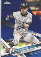 ICHIRO 2017 TOPPS CHROME SAPPHIRE EDITION #699 ONLY 250 MADE