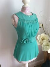 Ladies Stunning Vintage Style Blouse By Peruzzi Size 10