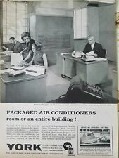 1963 York air conditioning conditioner Factory office area secretaries ad