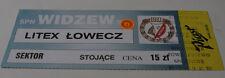 Ticket for collectors CL Widzew Lodz - Litex Lovech 1999 Poland Bulgaria