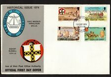 Isle of Man 1974 Historical Issue First Day Cover