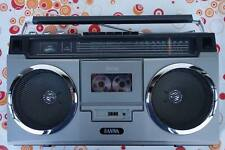 1979er SANWA 7075  Radio Cassette Recorder Japan Ghettoblaster Works
