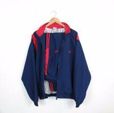 Adidas Originals Vintage Men Full Tracksuit Set Blue Navy Red 00's Red Size XL