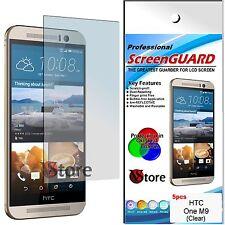 5 Pellicola Per HTC ONE M9 M 9  Pellicola Proteggi Salva Display Shermo LCD