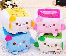 4PCS JAPANESE HANNARI TOFU PLUSH MOBILE PHONE STAND *4 Colors* 4pcs