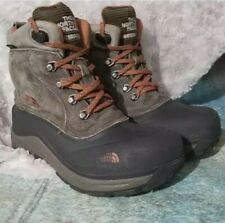 The North Face Boy Heat Seeker 200 Insulated Snow Boots Size 6 Waterproof Hiking
