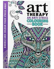Brand New Book - Art Therapy Anti-Stress Adult Colouring  Positive & Soothing