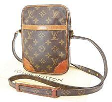 Authentic LOUIS VUITTON Danube Monogram Crossbody Shoulder Bag Purse #36873