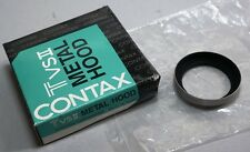 CONTAX T3 TVS II Compact Camera 30.5mm Metal Lens Hood in box