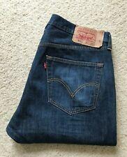 Para Hombre Levis 501 Xx Regular pierna recta Jeans Denim Azul Índigo W 36 L 30