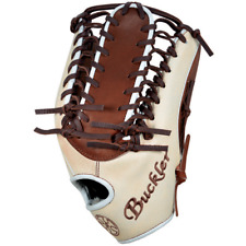 "Fame Buckler baseball, F1276MB 12.75"" LHT Outfield Mocha/Beige"