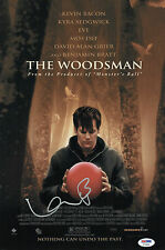 KEVIN BACON SIGNED THE WOODSMAN 10X15 MOVIE POSTER PSA COA V73566