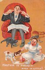 """Multum in Parvo - Much in Little! Comic Misch & Co. """"Phrases"""" 1909"""