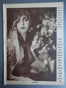 REVISTA CRÓNICA AÑO 1934 HOMENAJE RAFAEL CASANOVA - HUELGA GENERAL AT. MADRID