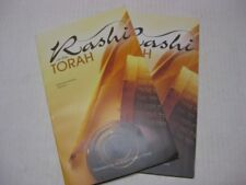 RASHI on the TORAH selected portions by Finkel 2 BOOKS VOL 1 & 2