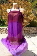 ab619f7c71b6 PAREO de RASUREL (dégriffé) violet taille unique