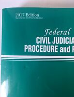 Federal Civil Judicial Procedure and Rules (2017, Paperback)