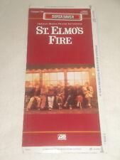 ST. ELMO'S FIRE MOVIE SOUNDTRACK CD LONGBOX EMPTY NO CD LONG BOX ONLY JOHN PARR