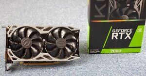 EVGA GeForce RTX 2060 KO ULTRA GAMING 6 GB GDDR6 PCI 3.0 Graphics Card - MINT