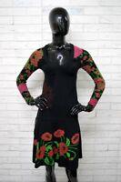 Vestito Donna DESIGUAL Taglia XS Abito Dress Tubino Cotone PARI AL NUOVO