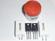 MPF7409 PSU 5pc Repair Kit Hitachi 42PD5000 42PD5200 32PD5000 32PD5200 K2843