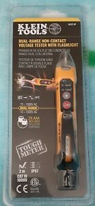 Klein Tools Dual Range Non-Contact Volt Tester with Flashlight | Free Shipping
