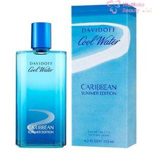 Cool Water Caribbean Summer by Zino Davidoff for Men 4.2oz Eau De Toilette Spray