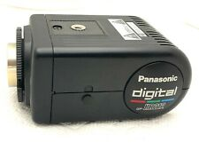 Panasonic Gp-Kr212 Industrial Color Ccd Camera w/power supply, cables & manual