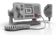 Lowrance Link - 6 Marine Vhf Radio DSC VHF radio set mano radio Bianco Nuovo