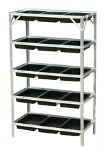 Seed Trays Frame Staging  5 Tier for Greenhouse