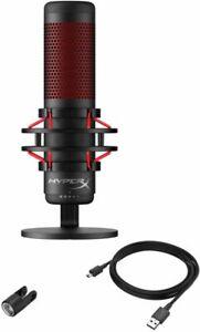 NB HyperX QuadCast Wired Multi-Pattern Electret Condenser Microphone