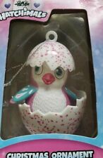 """Hatchimals Christmas Ornament Hatchling In Purple Speckled Egg 3.5"""" Collectible"""