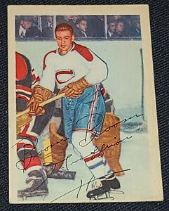 1953-1954 - PARKHURST - BERNARD GEOFFRION - MONTREAL CANADIENS - HOCKEY CARD #29