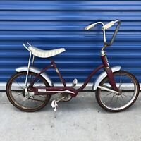 "Vintage Sears 16"" Kids Bicycle From The 60's. For Parts Or Collectors"