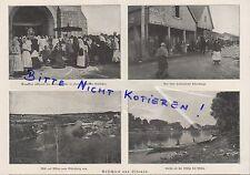 Werbung 1918, Bildnis Fotografie Portrait Wilna vom Schloßberg Milija Lithauen