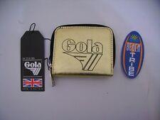 GOLA PORTAFOGLIO APPLEBY METALLIC CUC124 BLACK GOLD ORO NERO IDEA REGALO