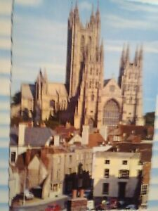amazing vintage POST CARD CANTERBURY CATHEDRAL LONDON