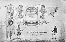 4074) PISTOIA, 3 REGGIMENTO FANTERIA BRIGATA PIEMONTE, FESTA DELLA BANDIERA 1905