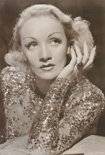POSTER : ACTRESS :  MARLENE DIETRICH - SPARKLY DRESS   - FREE SHIP  #1613 RW21 D