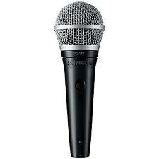 Shure PGA48-XLR Cardioid Dynamic Vocal Microphone with XLR C