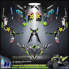Yamaha Raptor 700 700R graphics kit 2013 2014 2017 to 2020 decals stickers atv