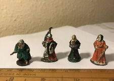 4 x Dungeons & Dragon Miniatures / Role-Playing figures